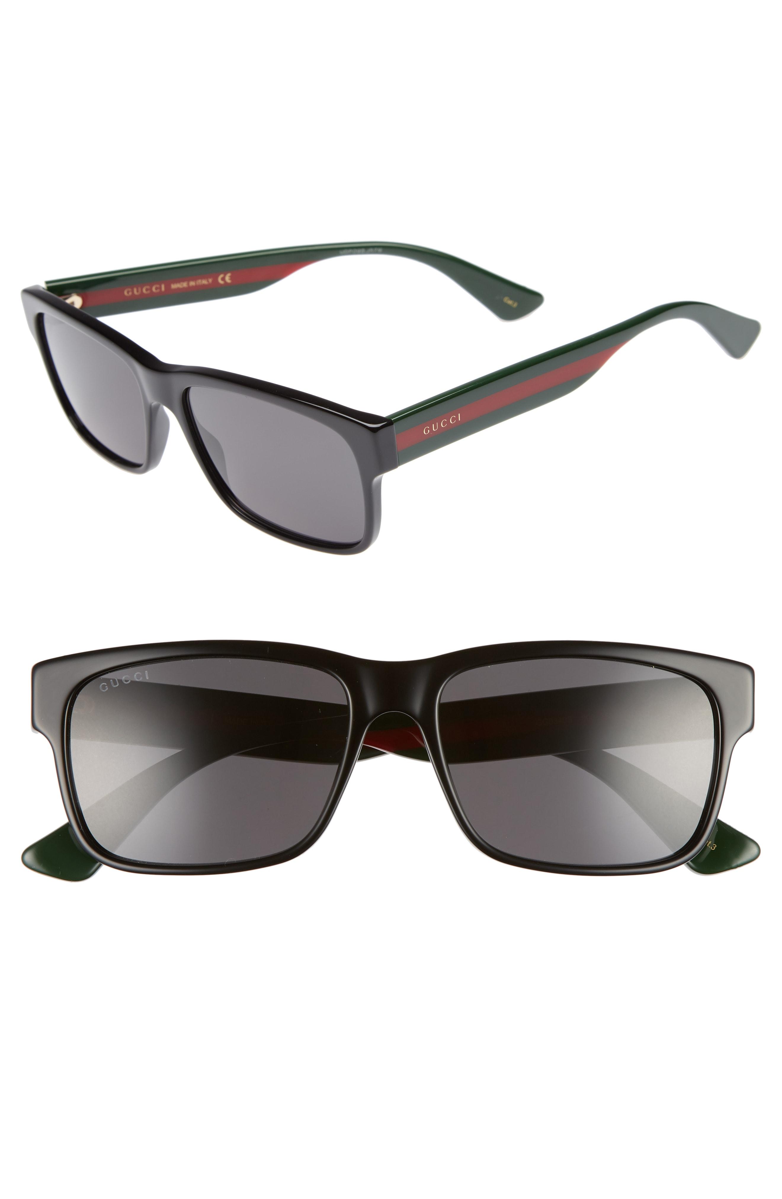 05661161465 Men s Gucci Sylvie 58Mm Sunglasses – Green Multicolor