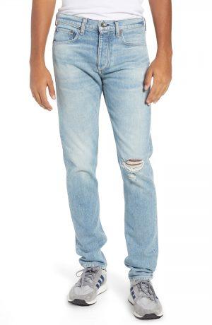 Men's Rag & Bone Fit 2 Slim Fit Jeans, Size 33 - Blue
