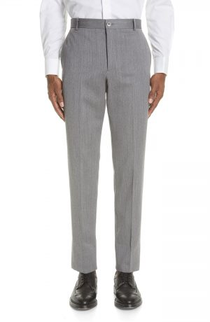 Men's Thom Browne Unconstructed Chinos, Size 1 - Grey
