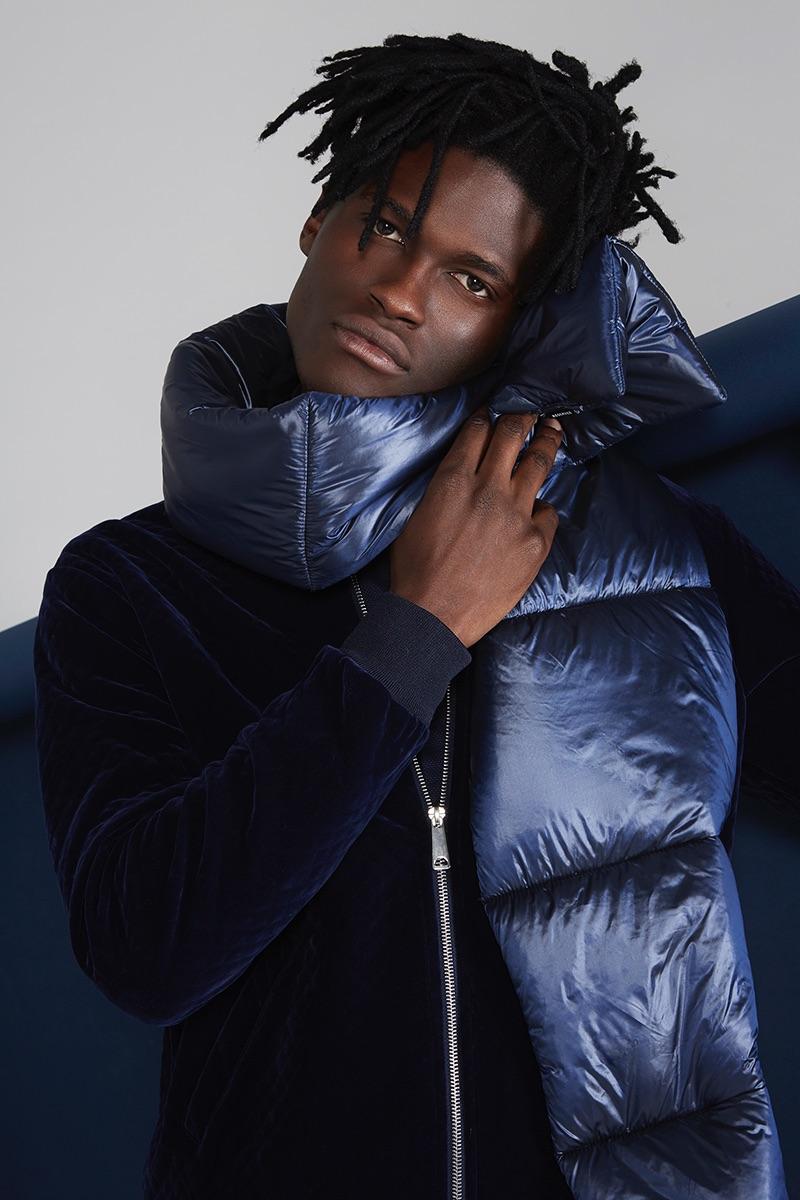 Jason wears jacket Zara and scarf Reserved.