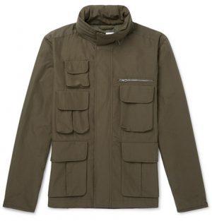 Mr P. - Water-Repellent Cotton-Blend Ripstop Field Jacket - Men - Green