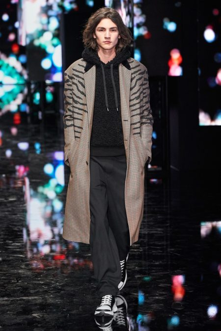 Neil Barrett Goes Tokyo Punk for Fall '19 Collection
