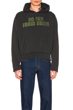 OFF-WHITE ART DAD So Far On Deck Hoodie in Black. - size L (also in )