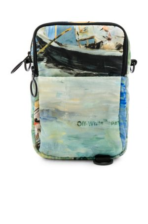 OFF-WHITE Lake Hip Bag in Blue.