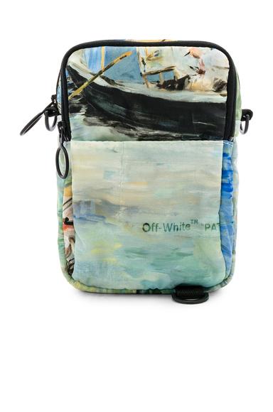 OFF-WHITE Lake Hip Bag in Blue.
