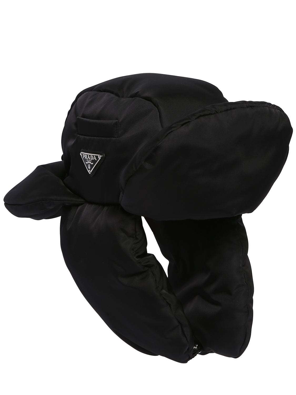 839944ef Padded Nylon Trapper Hat   The Fashionisto