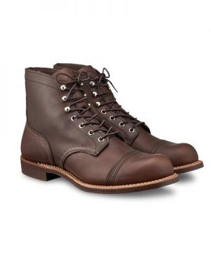 """Red Wing 8111 Iron Ranger 6"""" Boot in Amber Harness Leather"""