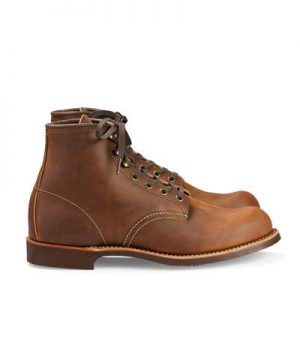 """Red Wing Blacksmith 6"""" Boot in Copper Rough and Tough Leather"""
