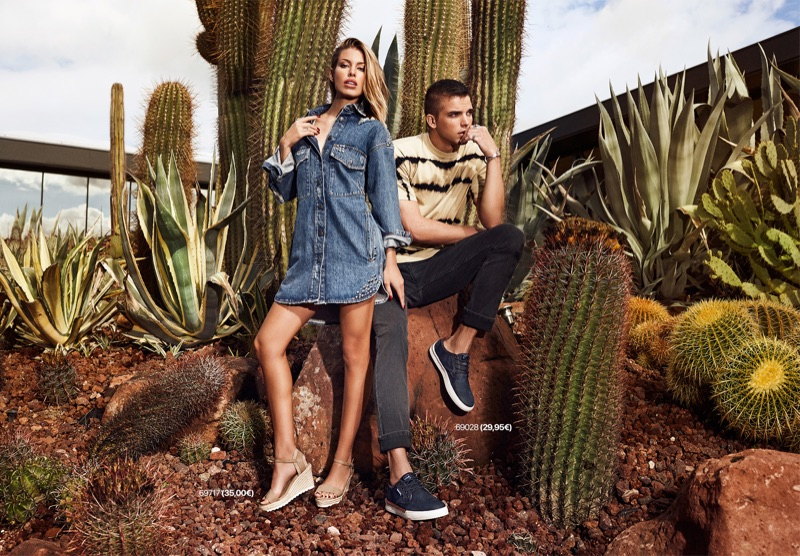 Jessica Goicoechea and River Viiperi sport the latest footwear from Refresh Shoes for its spring-summer 2019 campaign.