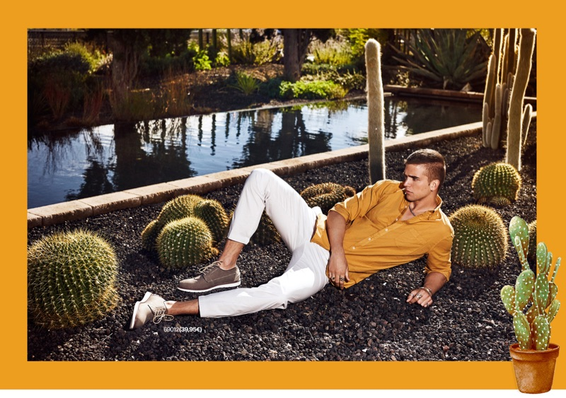 Model River Viiperi stars in the spring-summer 2019 campaign of Refresh Shoes.