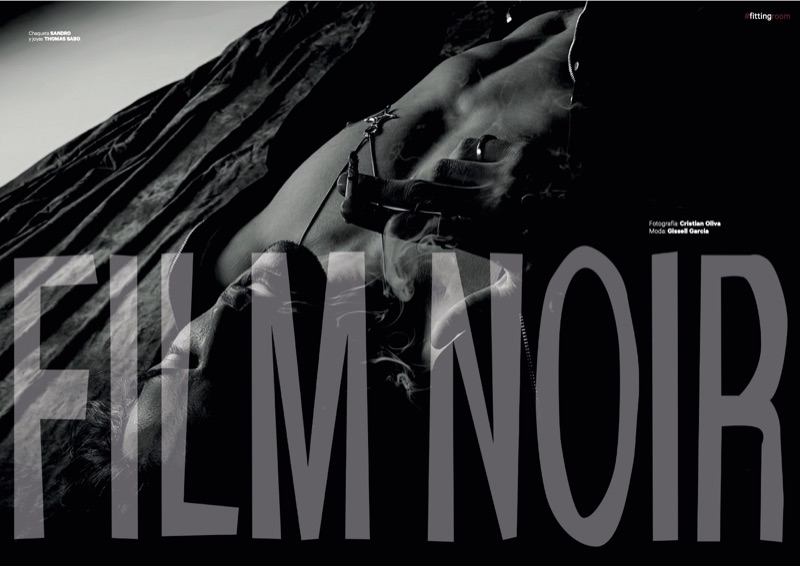 Robin Decaux Stars in a Film Noir-Inspired Story for Dear Magazine