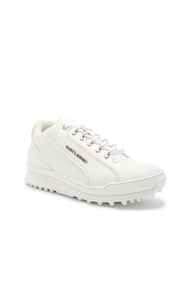 Saint Laurent Lace-Up Trainers in White. - size 40 (also in 41,43,43.5,41.5,42.5)