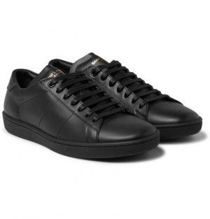 Saint Laurent - SL/01 Court Classic Leather Sneakers - Men - Black