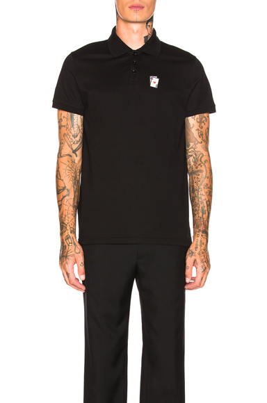 Saint Laurent Serpant Polo in Black. - size L (also in M,S)