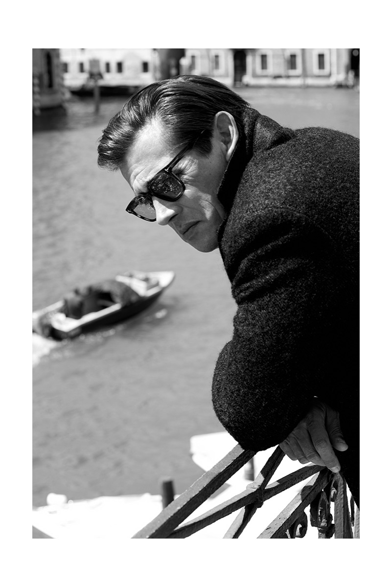 Werner Schreyer Dons Classic Menswear for Wall Street Italia