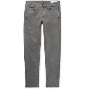 rag & bone - Fit 2 Slim-Fit Denim Jeans - Men - Gray