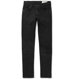 rag & bone - Two Slim-Fit Denim Jeans - Men - Black