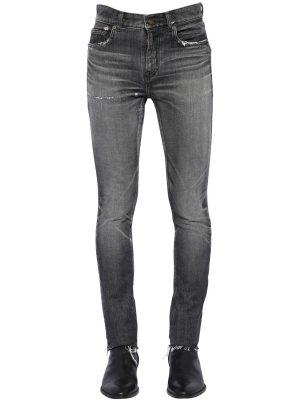 15cm Low Rise Skinny Denim Jeans