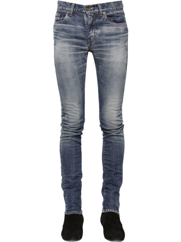 15cm Low Rise Stretch Denim Jeans