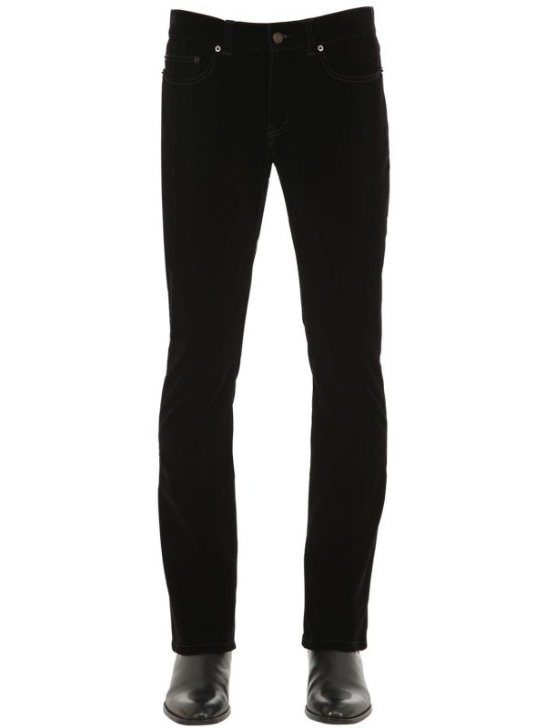 19cm Boot Cut Velvet Jeans