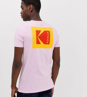 ASOS DESIGN Tall Kodak t-shirt with placement print - Pink