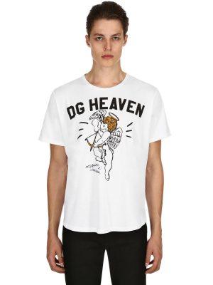 Angel Printed Cotton Jersey T-shirt