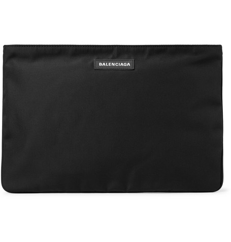 Balenciaga - Explorer Canvas Pouch - Men - Black