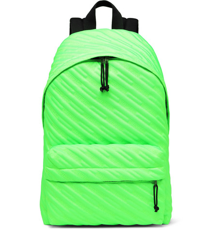 Balenciaga - Explorer Quilted Canvas Backpack - Men - Green