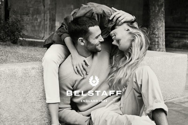 Sven Jacobsen photographs Corey Saucier and Juliana Schurig for Belstaff's spring-summer 2019 campaign.