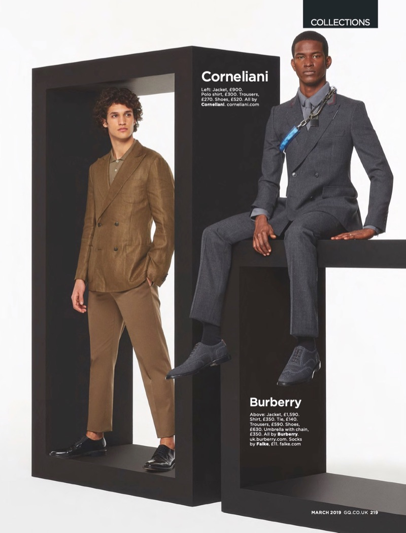 Francisco Henriques, Rachide Embalo + More Don Spring '19 Collections for British GQ