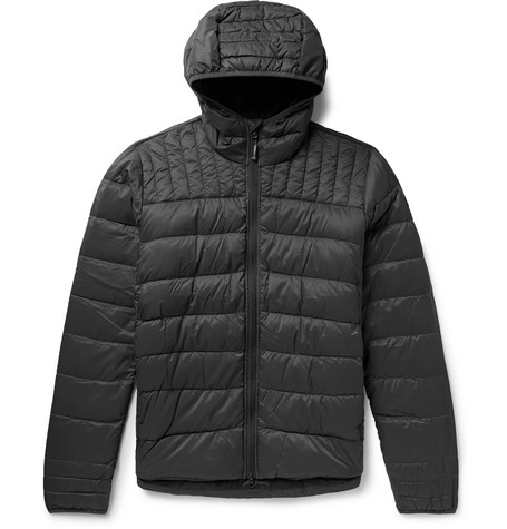 Canada Goose - Brookvale Quilted Ripstop Hooded Down Jacket - Men - Dark gray