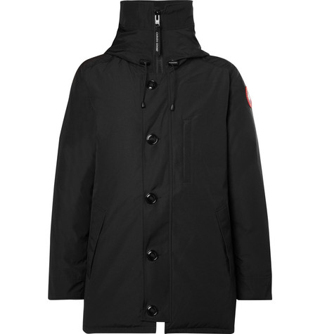 Canada Goose - Chateau Shell Hooded Down Parka - Men - Black