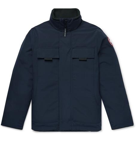 Canada Goose - Forester Canvas-Panelled Arctic Tech Down Jacket - Men - Storm blue