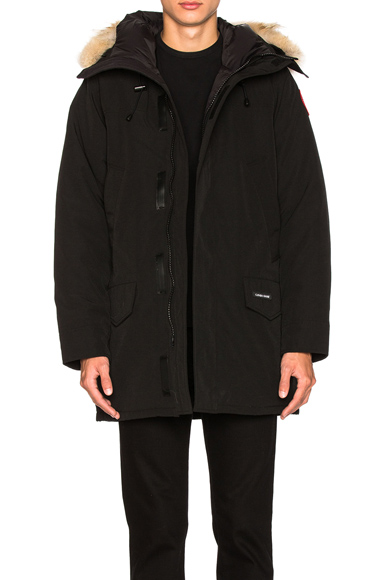Canada Goose Langford Parka With Coyote Fur Trim in Black. - size S (also in )
