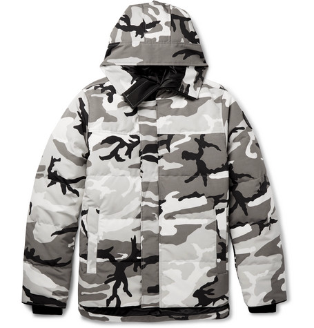 Canada Goose - Macmillan Camouflage-Print Quilted Shell Down Jacket - Men - Dark gray