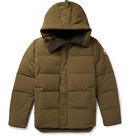 Canada Goose - Macmillan Quilted Shell Hooded Down Parka - Men - Army green