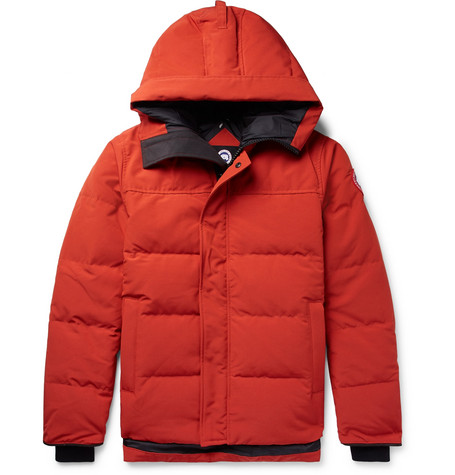Canada Goose - Macmillan Quilted Shell Hooded Down Parka - Men - Orange