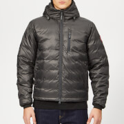 Canada Goose Men's Lodge Hooded Jacket - Graphite/Black - S - Black