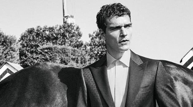 Alexandre Cunha & Max Barczak Dress to Impress in Canali Wedding Collection