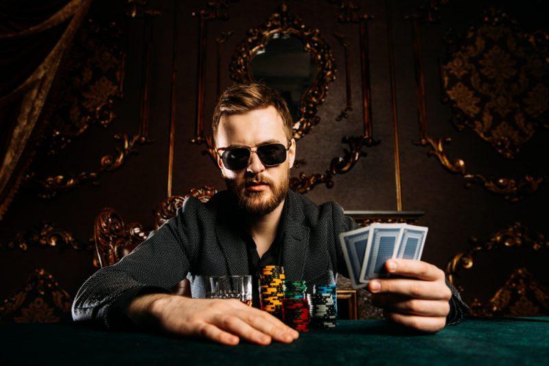 Casino Stylish Man Sunglasses