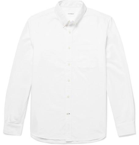 Club Monaco - Button-Down Collar Cotton Oxford Shirt - Men - White