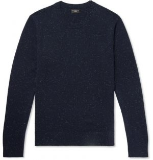 Club Monaco - Donegal Cashmere Sweater - Men - Navy