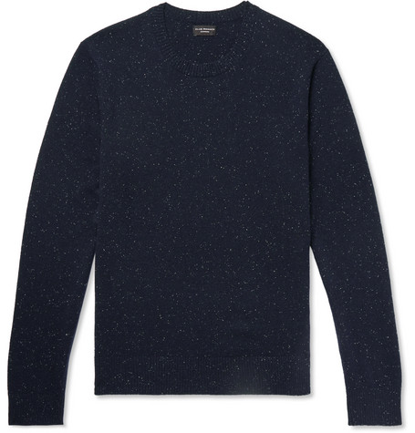 Club Monaco - Donegal Cashmere Sweater - Men - Navy