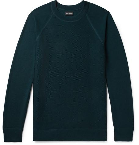 Club Monaco - Merino Wool Sweater - Men - Petrol
