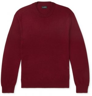 Club Monaco - Slim-Fit Merino Wool Sweater - Men - Red