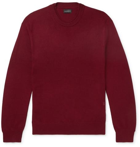 Club Monaco - Slim-Fit Merino Wool Sweater - Men - Red