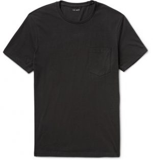 Club Monaco - Williams Cotton-Jersey T-Shirt - Men - Black