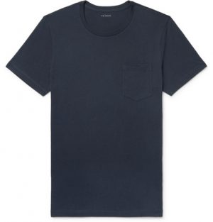Club Monaco - Williams Cotton-Jersey T-Shirt - Men - Midnight blue