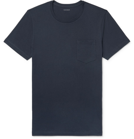 Club Monaco - Williams Cotton-Jersey T-Shirt - Men - Midnight blue