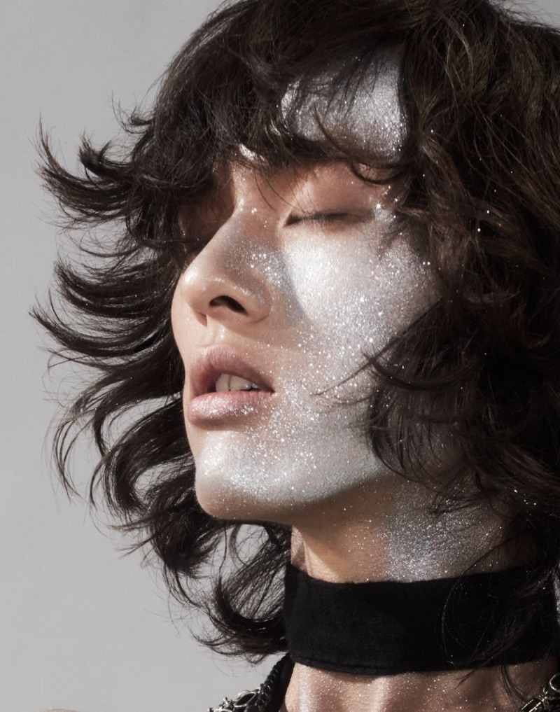 David Yang is Glam for Vogue China Beauty Story